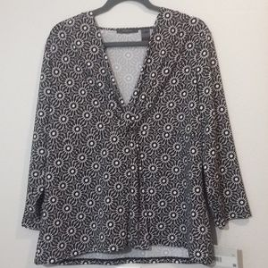 Great for Travel! Liz Claiborne NWT Shirt XL